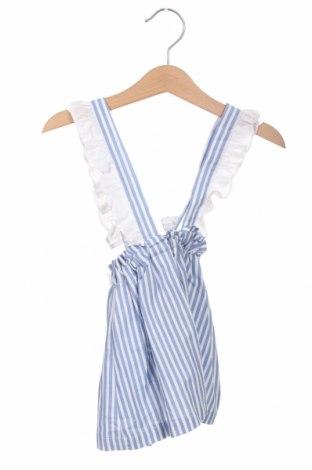 Sarafan pentru copii Lola Palacios, Mărime 2-3y/ 98-104 cm, Culoare Albastru, Bumbac, Preț 22,73 Lei