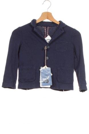 Παιδικό σακάκι Monnalisa, Μέγεθος 6-7y/ 122-128 εκ., Χρώμα Μπλέ, 95% βαμβάκι, 5% ελαστάνη, Τιμή 11,97€