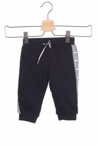 Детско спортно долнище Boss, Размер 6-9m/ 68-74 см, Цвят Син, 80% памук, 20% полиестер, Цена 45,15лв.