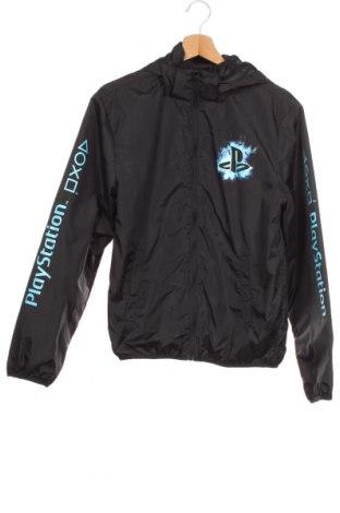 Dětská sportovní bunda  H&M, Velikost 12-13y/ 158-164 cm, Barva Černá, Polyamide, Cena  462,00Kč
