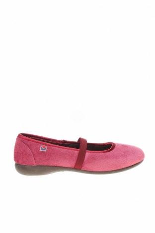 Домашни пантофи Victoria, Размер 33, Цвят Розов, Текстил, Цена 18,72лв.