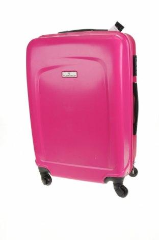 Valiză Platinum, Culoare Roz, Poliuretan, Preț 438,95 Lei