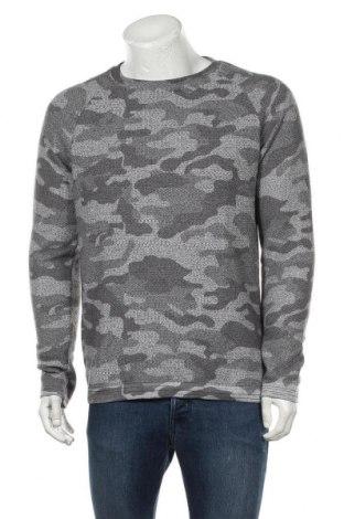 Ανδρική μπλούζα, Μέγεθος L, Χρώμα Γκρί, 60% βαμβάκι, 35% πολυεστέρας, 5% άλλα υλικά, Τιμή 10,39€