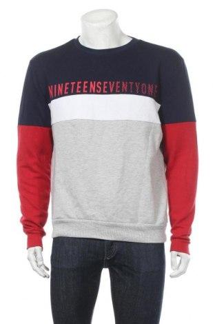 Мъжка блуза Angelo Litrico, Размер L, Цвят Многоцветен, 69% памук, 31% полиестер, Цена 16,96лв.