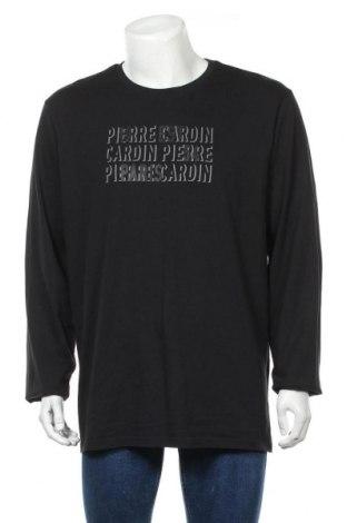 Мъжка блуза Pierre Cardin, Размер XXL, Цвят Черен, Памук, Цена 15,96лв.