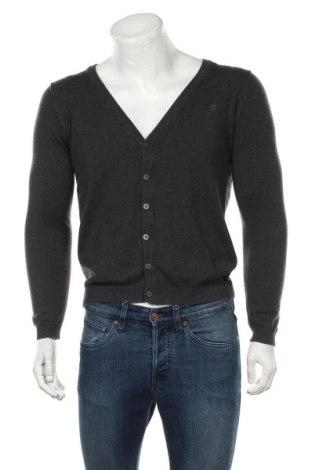 Jachetă tricotată de bărbați Jack & Jones, Mărime S, Culoare Gri, Preț 37,42 Lei