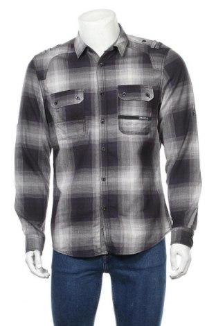 Мъжка риза Angelo Litrico, Размер M, Цвят Лилав, Памук, Цена 6,61лв.