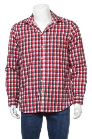 Мъжка риза Angelo Litrico, Размер M, Цвят Многоцветен, 65% полиестер, 35% памук, Цена 18,95лв.