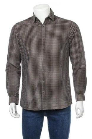 Мъжка риза Angelo Litrico, Размер M, Цвят Кафяв, Цена 16,07лв.