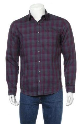 Мъжка риза Angelo Litrico, Размер S, Цвят Сив, Памук, Цена 5,83лв.