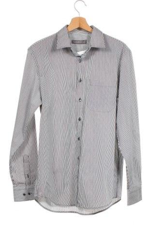Мъжка риза Angelo Litrico, Размер M, Цвят Бял, 65% полиестер, 35% памук, Цена 6,24лв.