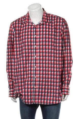 Мъжка риза Angelo Litrico, Размер XXL, Цвят Многоцветен, 67% полиестер, 33% памук, Цена 17,01лв.