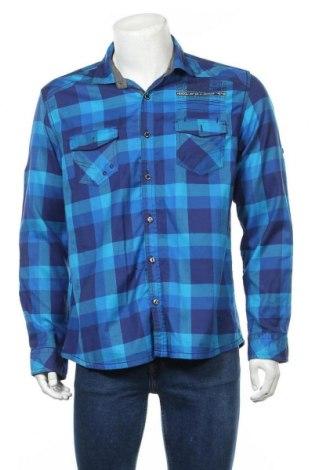 Мъжка риза Angelo Litrico, Размер L, Цвят Син, Цена 7,37лв.