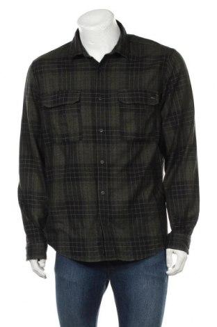 Мъжка риза Angelo Litrico, Размер L, Цвят Зелен, 100% памук, Цена 18,95лв.