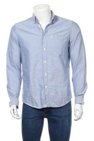 Мъжка риза Ben Sherman, Размер M, Цвят Син, Памук, Цена 28,93лв.