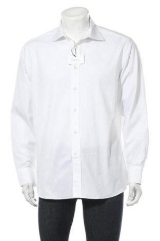 Мъжка риза Camicissima, Размер M, Цвят Бял, Памук, Цена 51,75лв.