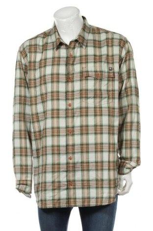 Мъжка риза DC Shoes, Размер XXL, Цвят Многоцветен, 55% памук, 45% полиестер, Цена 31,92лв.