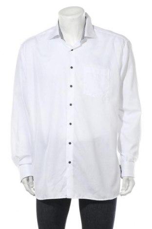 Мъжка риза Eterna, Размер XXL, Цвят Бял, Памук, Цена 33,30лв.