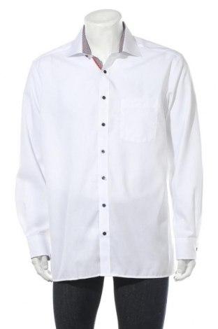 Мъжка риза Eterna, Размер XL, Цвят Бял, Памук, Цена 33,30лв.