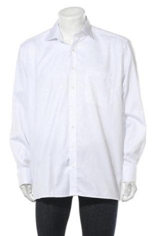 Мъжка риза Eterna, Размер XL, Цвят Бял, Памук, Цена 28,80лв.