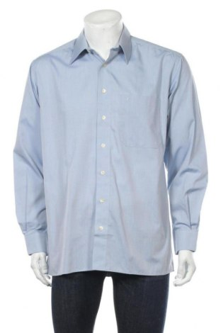 Мъжка риза Eterna, Размер M, Цвят Син, Цена 15,96лв.