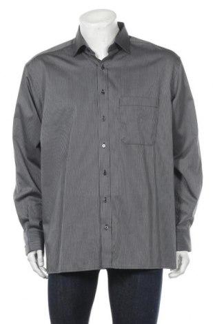 Мъжка риза Eterna, Размер XL, Цвят Черен, Памук, Цена 17,96лв.