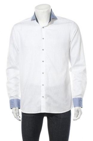 Мъжка риза Eterna, Размер M, Цвят Бял, Цена 21,00лв.