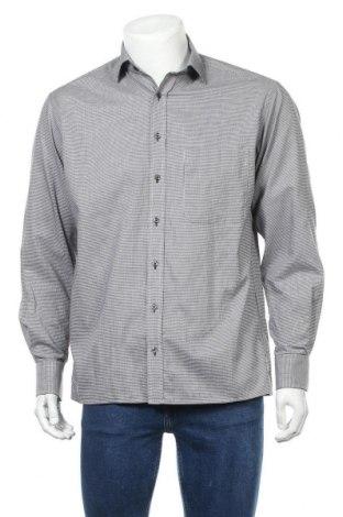 Мъжка риза Eterna, Размер M, Цвят Черен, Памук, Цена 15,12лв.