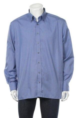 Мъжка риза Eterna, Размер XL, Цвят Син, Памук, Цена 17,64лв.