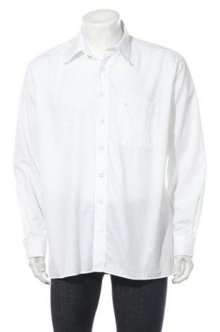 Мъжка риза Eterna, Размер L, Цвят Бял, Памук, Цена 15,96лв.