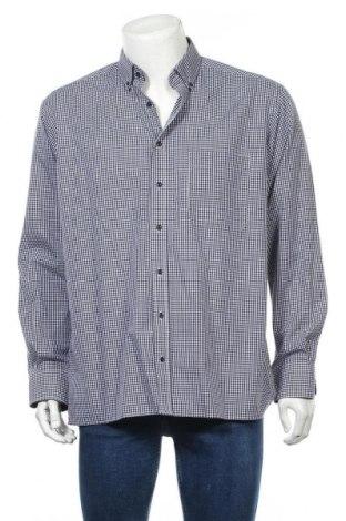 Мъжка риза Eterna, Размер L, Цвят Син, Памук, Цена 24,94лв.