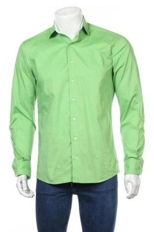 Мъжка риза Eterna, Размер M, Цвят Зелен, Цена 21,84лв.