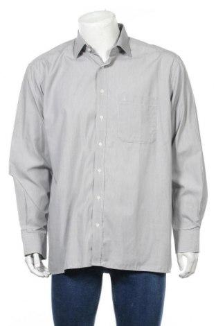 Мъжка риза Eterna, Размер XL, Цвят Сив, Памук, Цена 7,25лв.