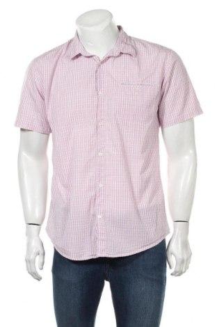 Мъжка риза Mads Norgaard, Размер L, Цвят Розов, 100% памук, Цена 14,72лв.