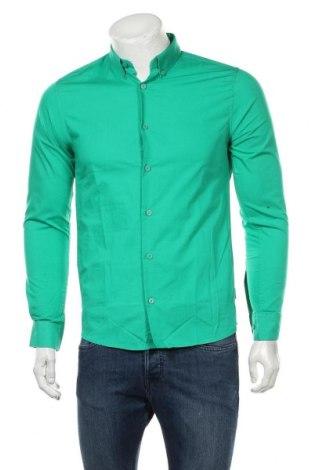 Ανδρικό πουκάμισο Only & Sons, Μέγεθος S, Χρώμα Πράσινο, Βαμβάκι, Τιμή 8,35€