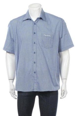 Мъжка риза Pierre Cardin, Размер XL, Цвят Син, 65% полиестер, 35% памук, Цена 14,06лв.