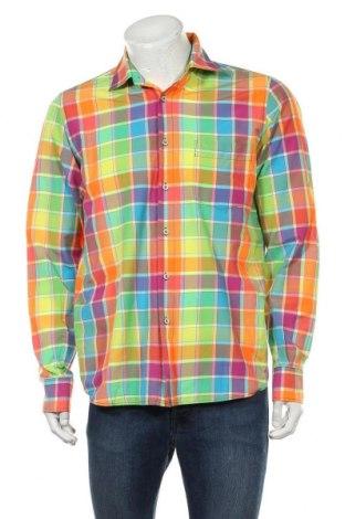 Ανδρικό πουκάμισο Signum, Μέγεθος M, Χρώμα Πολύχρωμο, 64% βαμβάκι, 36% πολυεστέρας, Τιμή 12,34€