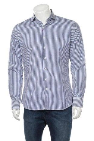 Ανδρικό πουκάμισο Spagnolo, Μέγεθος S, Χρώμα Μπλέ, Βαμβάκι, Τιμή 8,35€
