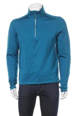 Мъжка спортна блуза Active By Tchibo, Размер M, Цвят Син, 92% полиестер, 8% еластан, Цена 15,96лв.