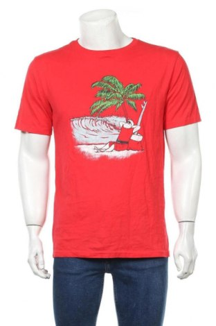 Мъжка тениска Anko, Размер M, Цвят Червен, Памук, Цена 18,90лв.