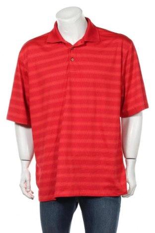 Мъжка тениска Kirkland, Размер XL, Цвят Червен, 94% полиестер, 6% еластан, Цена 6,81лв.