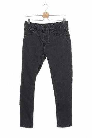 Мъжки дънки Denim Co, Размер S, Цвят Сив, 78% памук, 20% полиестер, 2% еластан, Цена 15,02лв.