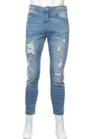 Мъжки дънки Lft, Размер M, Цвят Син, 98% памук, 2% еластан, Цена 36,72лв.