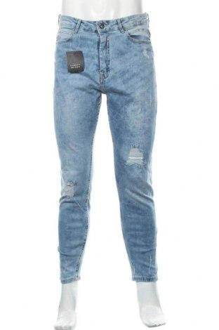 Мъжки дънки Lft, Размер M, Цвят Син, 98% памук, 2% еластан, Цена 36,58лв.