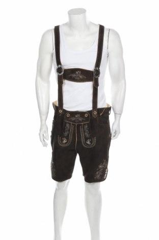 Мъжки гащеризон Stockerpoint, Размер XL, Цвят Кафяв, Естествена кожа, Цена 85,92лв.