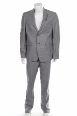 Costum de bărbați Barbuti, Mărime XL, Culoare Gri, 75% poliester, 25% viscoză, Preț 295,07 Lei