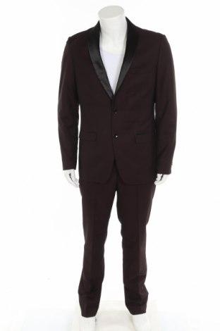 Pánský oblek  Bruno Banani, Velikost L, Barva Hnědá, Polyester, viskóza, elastan, Cena  1051,00Kč