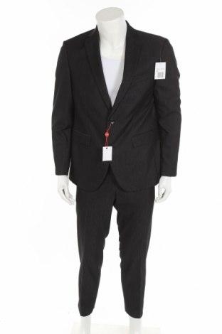 Ανδρικό κοστούμι Man's World, Μέγεθος L, Χρώμα Γκρί, 78% πολυεστέρας, 18% βισκόζη, 4% ελαστάνη, Τιμή 39,20€