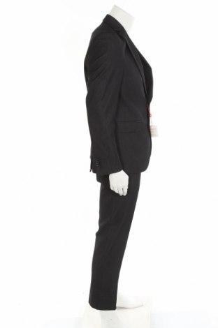 Мъжки костюм Man's World, Размер L, Цвят Сив, 78% полиестер, 18% вискоза, 4% еластан, Цена 126,75лв.
