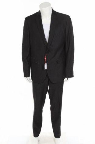 Мъжки костюм Man's World, Размер XL, Цвят Сив, 78% полиестер, 18% вискоза, 4% еластан, Цена 74,36лв.
